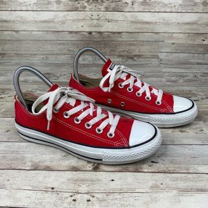 Converse Unisex Red Chuck Taylor All Star Shoe 7